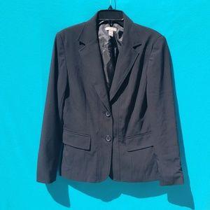 Kim Rogers Black Blazer Jacket Size 10